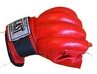 Рукавиці снарядні(шингарти) обрізані пальці Шкіра ELAST VL-01044-R(L)