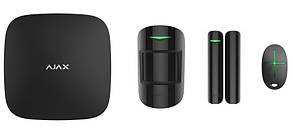 Стартовый набор системы безопасности Ajax Systems StarterKit черный (Украина)