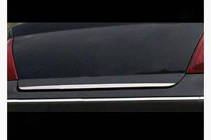 Накладка нижней кромки крышки багажника (нерж.) - Citroen C-4 2005-2010 гг.