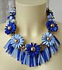 Ожерелье женское колье модное ювелирная бижутерия 4177