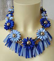 Ожерелье женское колье модное ювелирная бижутерия 4177, фото 1