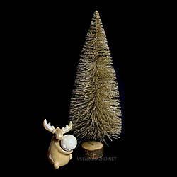 Декоративная ёлка Золотая  (45х17 см)