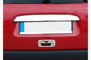 Накладка на ручку задней двери (нерж.) - Citroen Berlingo 1996-2008 гг.