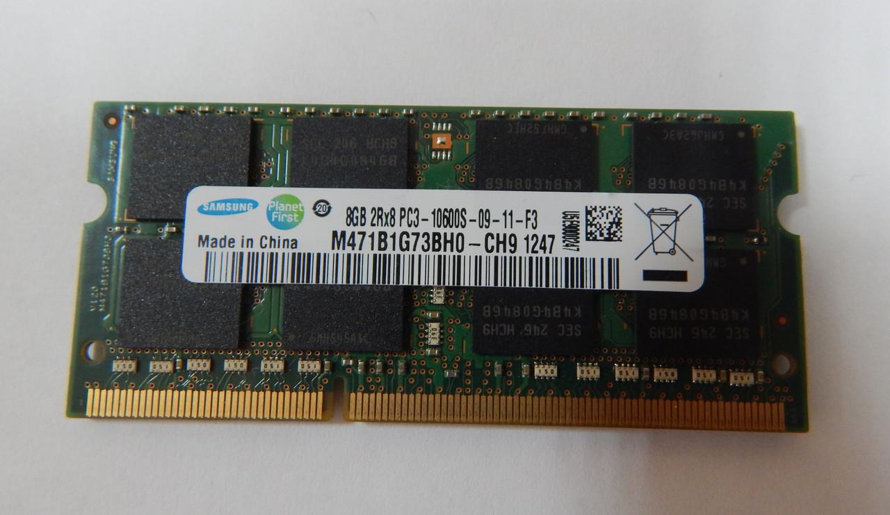 Оперативная память для ноутбука 8GB DDR3 1333 MHz