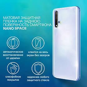 Гидрогелевая пленка для iPhone 11 Pro Max  Матовая противоуданая на заднюю поверхность | Полиуретановая пленка
