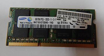 Оперативная память для ноутбука 8GB DDR3 1600 MHz