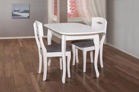 Стол  обеденный раскладной Кантри  Модуль Люкс, белый, фото 2