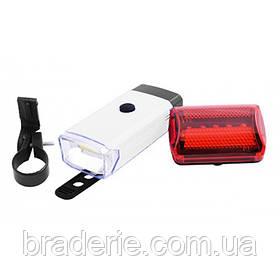 Набор велосипедных фонарь+габарит X-Balog BL 408 5W-COB