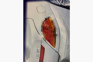 Накладки на стопы (2 шт, ABS) - BMW 7 серия E65/66