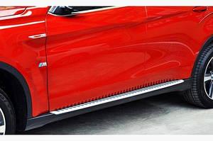 Боковые подножки OEM (2 шт) - BMW X4 G02 (2018↗)