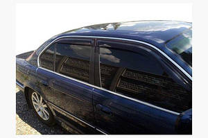Ветровики (4 шт, HIC) - BMW 7 серия F01/F02