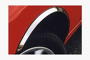 Накладки на арки (4 шт, нерж) - Audi A4 B7 2004-2008 гг.