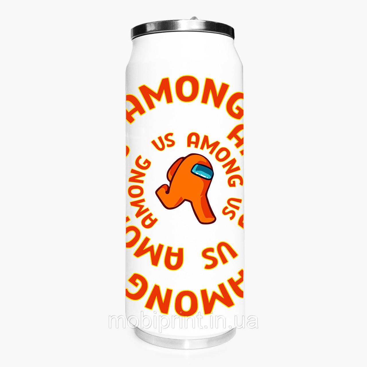 Термобанка Амонг Ас Помаранчевий (Among Us Orange) 500 мл (31091-2408-1) термокружка з нержавіючої сталі