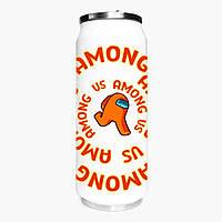Термобанка Амонг Ас Помаранчевий (Among Us Orange) 500 мл (31091-2408-1) термокружка з нержавіючої сталі, фото 1