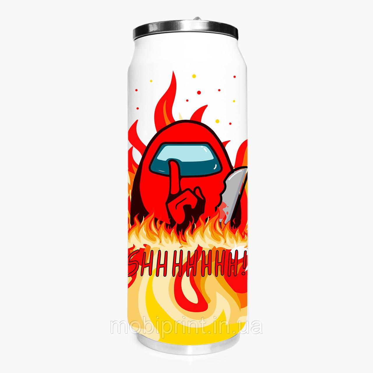 Термобанка Амонг Ас Красный (Among Us Red) 500 мл (31091-2412-1) термокружка из нержавеющей стали