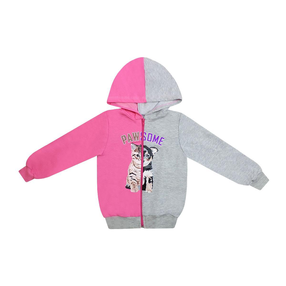 Детская спортивная кофта для девочки двухнитка