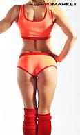 "Комплект топ + шорты ""Классика"" для занятий  фитнесом,exotic pole dance, pole dance., фото 1"