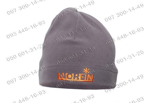 Шапка Norfin (302783) Fleece из полиэстра с мягкой флисовой подкладкой серая (302783-GY)