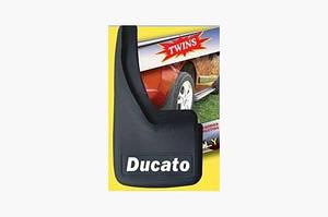 Брызговики с углублениями (2шт) - Fiat Ducato 1995-2006 гг.