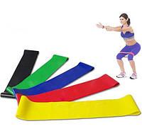 Резинки для фитнеса (мини-петли), набор в чехле 2-18 кг