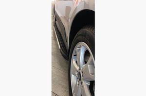 Боковые пороги Duru (2 шт., алюминий) - Ford Ranger 2011↗ гг.