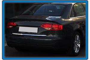 Кромка багажника (sedan, нерж.) - Audi A4 B8 2007-2015 гг.