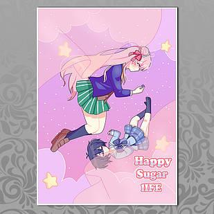Плакат Аниме Happy Sugar Life 05