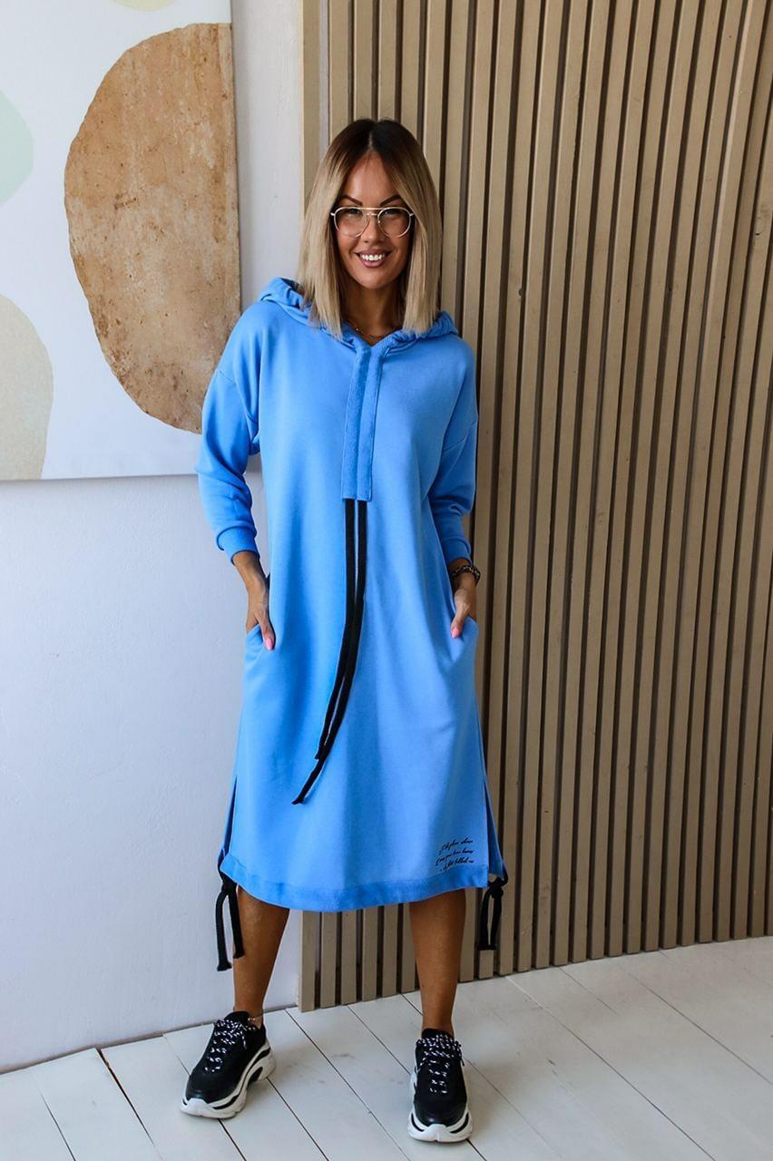 Женское платье с капюшоном али1179