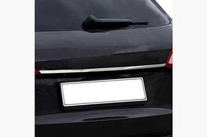 Планка над номером (sedan, нерж.) - Audi A4 B9 2015↗ гг.