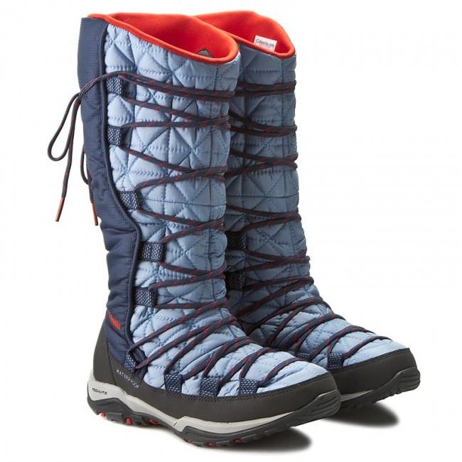 Снегоходы COLUMBIA синие голубые женские подростковые