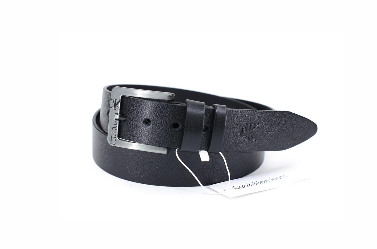 Кожаный черный ремень в стиле black belt