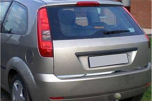 Кромка крышки багажника (нерж.) OmsaLine - Итальянская нержавейка - Ford Fiesta 2002-2008 гг.
