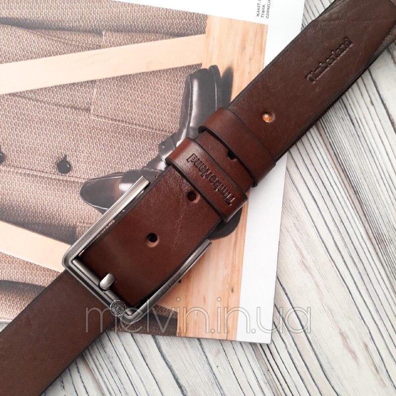 Ремень кожаный в стиле Timberland