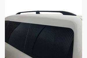 Рейлинги черные Станд. база, Пластиковые ножки - Volkswagen Caddy 2015↗ гг.
