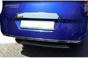 Кромка багажника (нерж) - Ford Courier 2014↗ гг.
