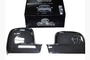 Накладки на дзеркала (2 шт) Carmos - Полірована нержавіюча сталь - Volkswagen T5 Multivan 2003-2010 рр.