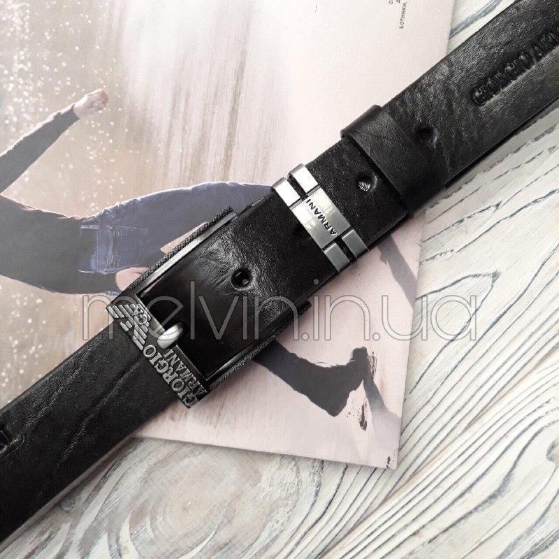 Ремень кожаный в стиле Giorgio Armani