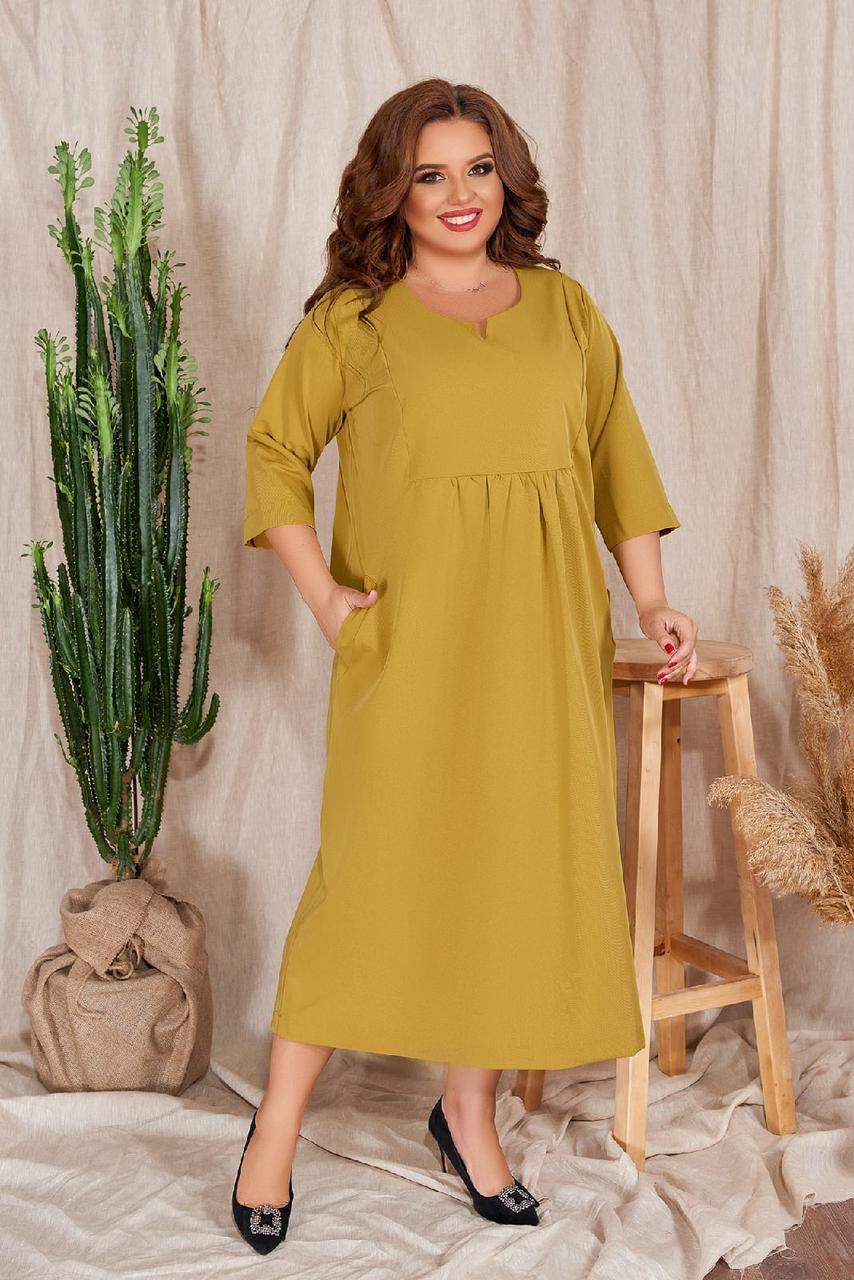 Женское платье с карманами али1182