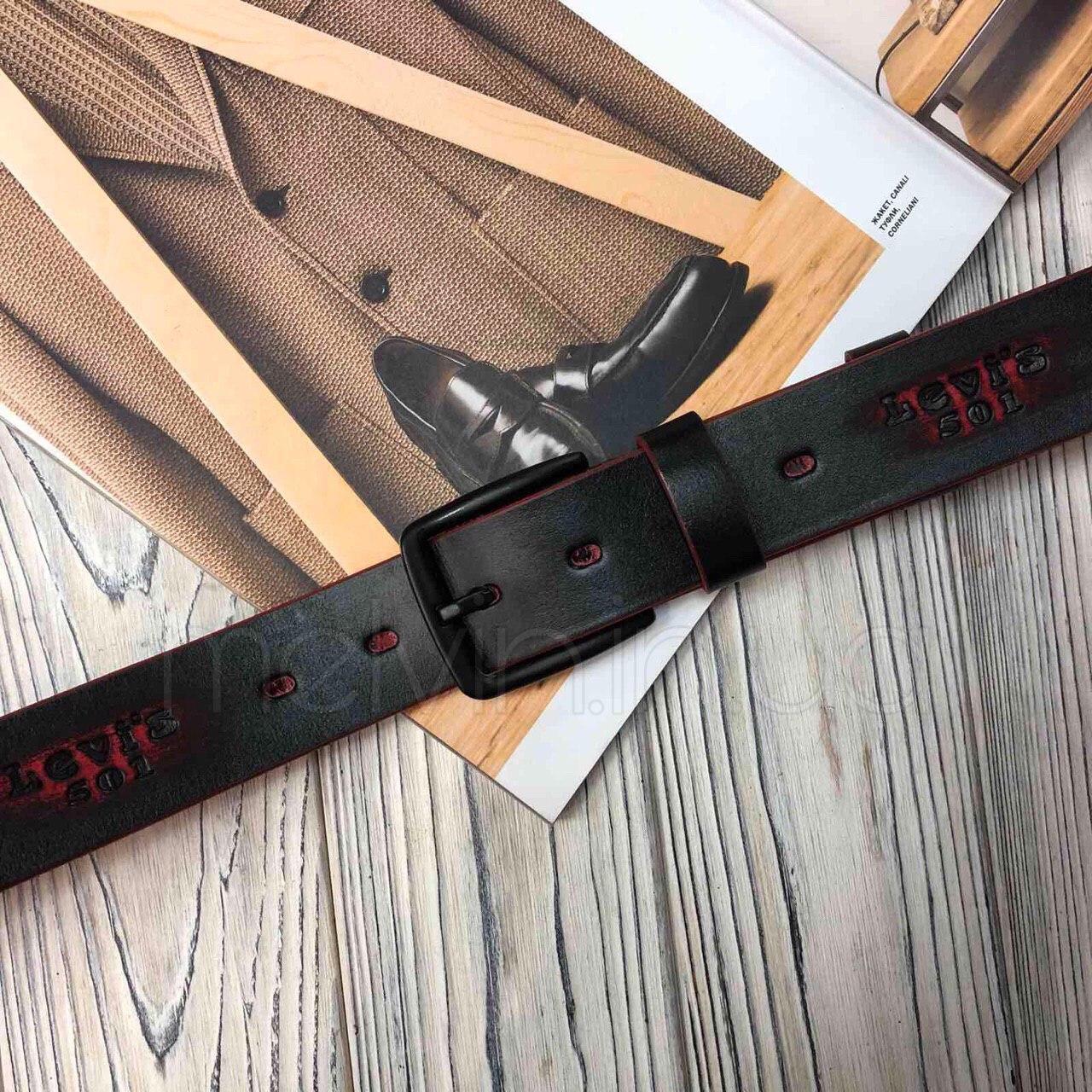 Ремень кожаный в стиле Levi`s