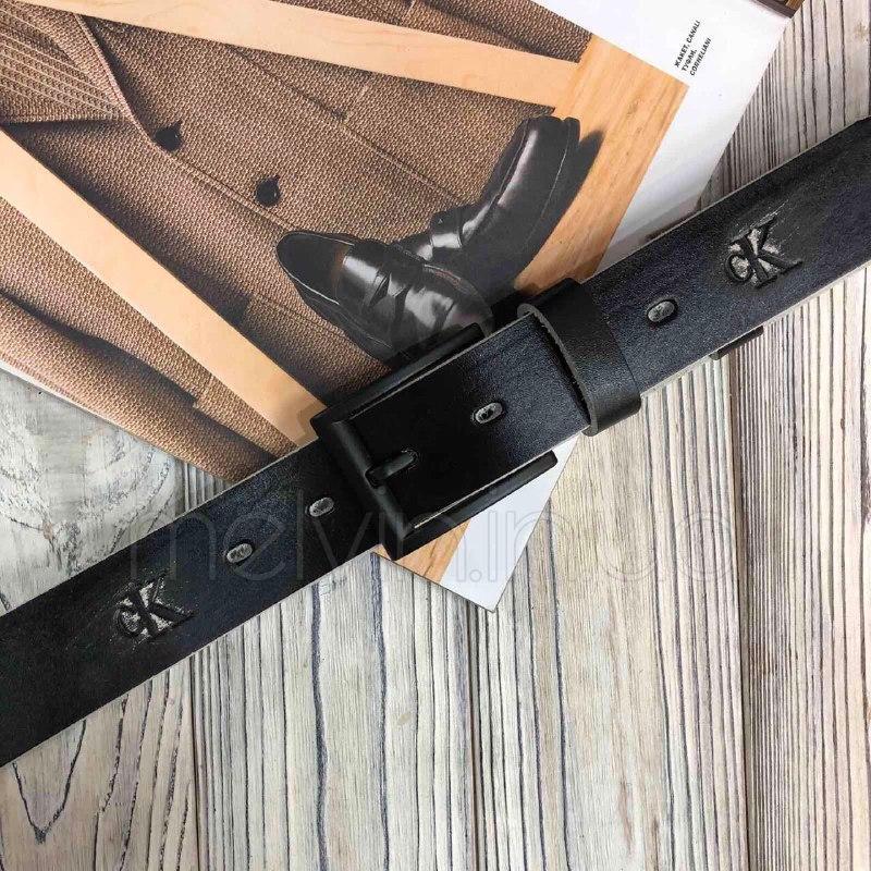Ремень кожаный Calvin Klein Реплика