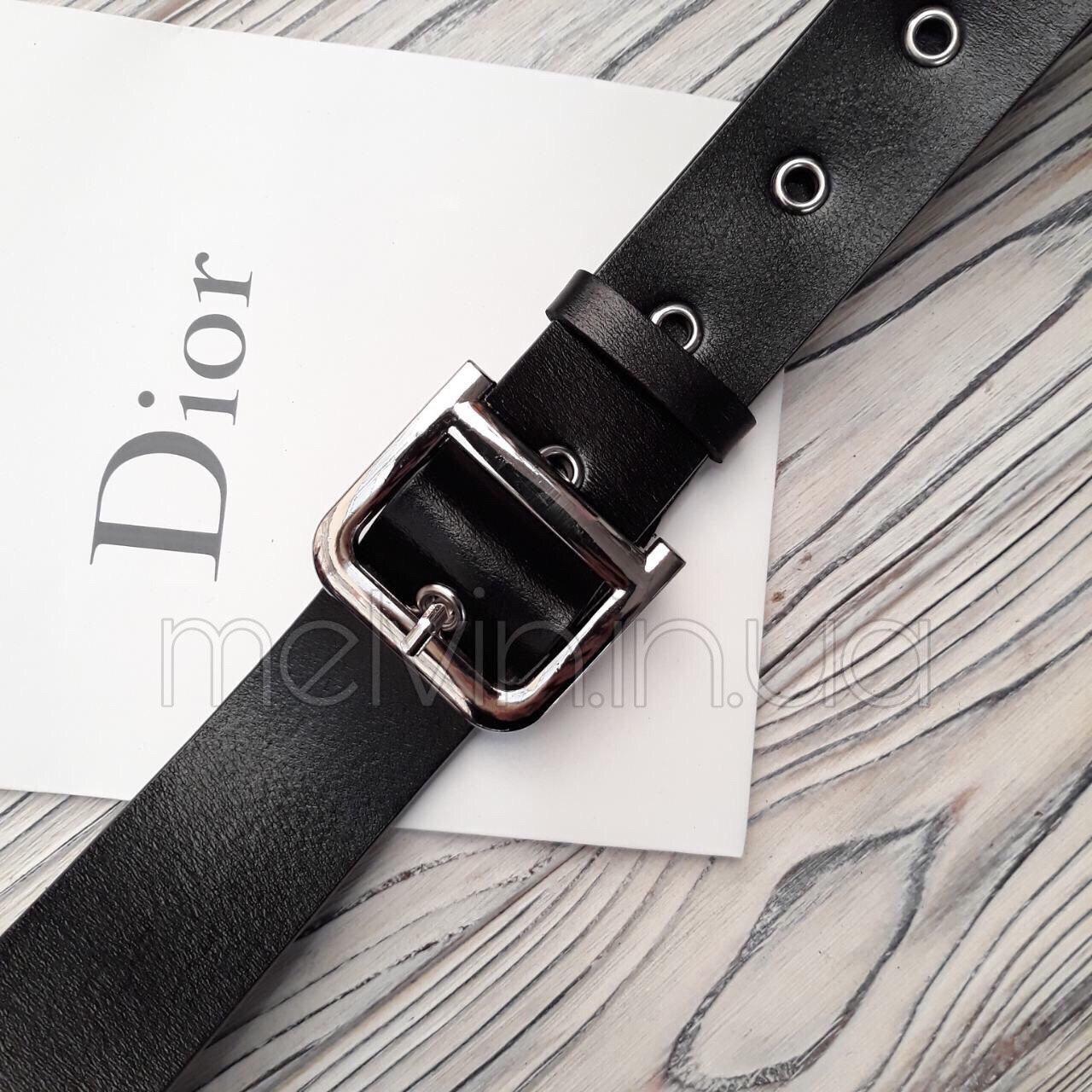 Женский кожаный ремень в стиле Dior
