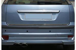 Кромка багажника (HB, нерж.) - Ford Focus II 2008-2011 гг.