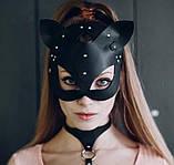 "Кожаная маска-кошка ""Kitty Cat"", фото 3"