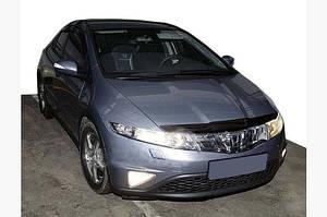 Дефлектор капота (SIM) - Honda Civic HB 2006-2012 гг