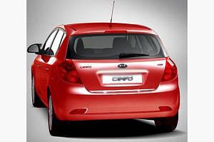Кромка багажника (HB, нерж.) - Kia Ceed 2007-2012 гг.