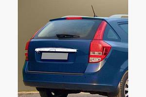 Планка над номером (SW, нерж) - Kia Ceed 2007-2012 гг.