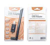 Беспроводной WiFi антенный адаптер  RTL8812CU IEEE802.11ac, 1200 Мбит/с, USB 5 ГГц 2,4 ГГц