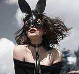 """Кожаная маска кролика """"Bunny"""", фото 3"""