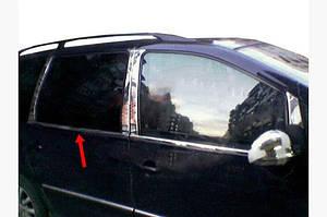 Окантовка стекол (4 шт, нерж) Carmos - Турецкая сталь - Ford Galaxy 1995-2010 гг.