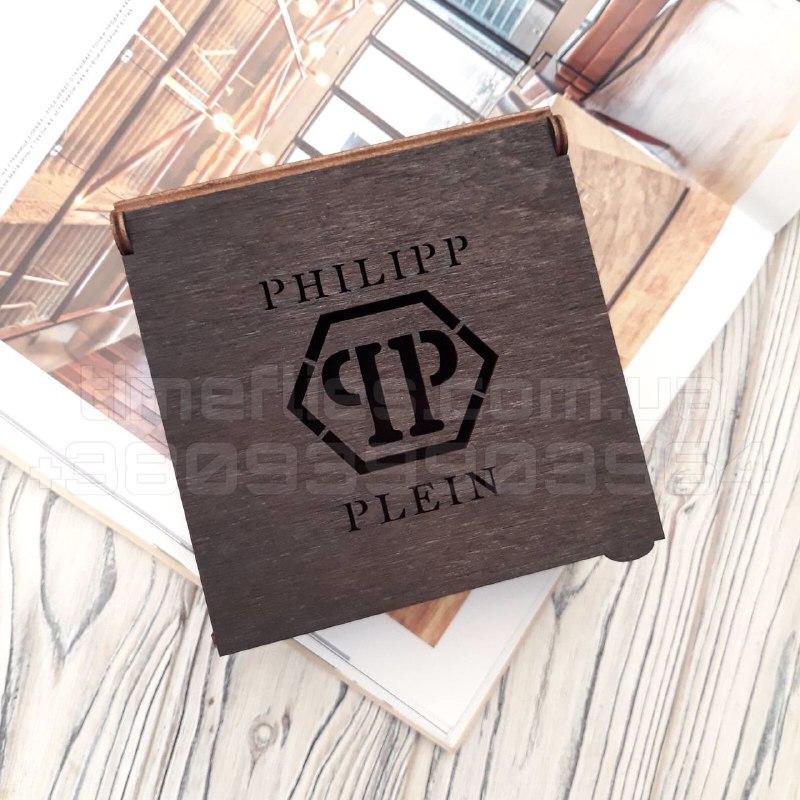 Деревянная коробка для ремня Philipp Plein